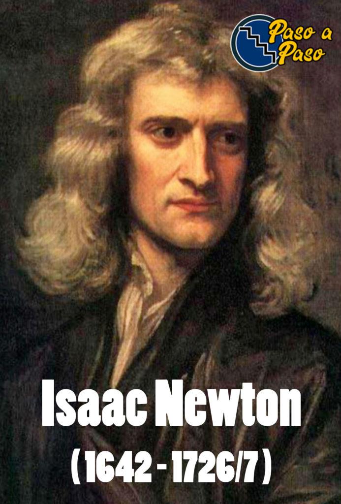 SIR-isaac-newton-fuerza-de-gravedad-paso-a-paso